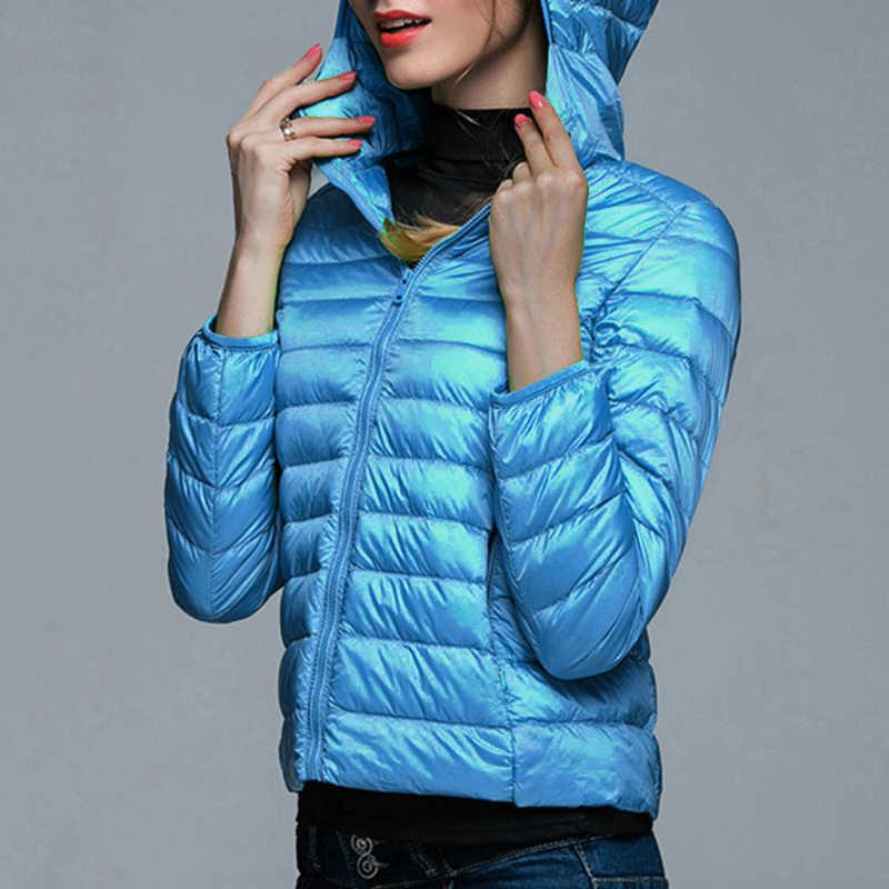 Sfit 女性のジャケットダウンジャケットコート超付きジャケットパーカージャケット女性ポータブル生き抜くベルベットジャケット