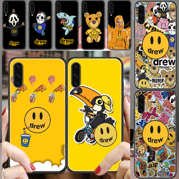 Drew Justin Bieber Phone case For Samsung Galaxy A 3 5 7 8 10 20 21 30 40 50 51 70 71 E S 2016 2018 4G black 3D cover painting image