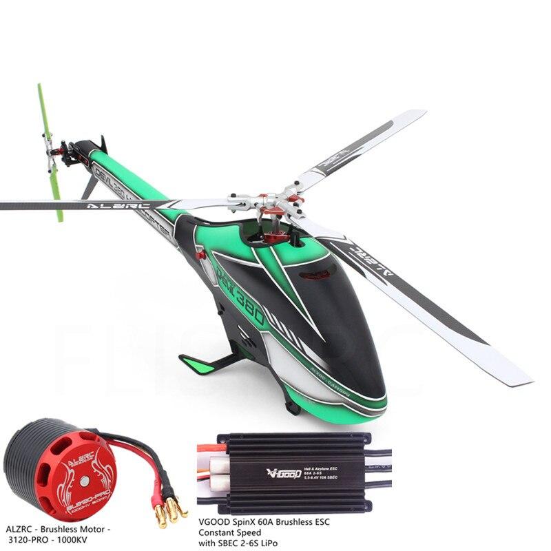 ALZRC Devil 380 RC Helicopter Part 3120-PRO 1000KV Brushless Motor