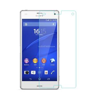 Image 4 - 2Pcs/Lot 9H 0.3mm 2.5D Tempered Glass For Sony Xperia Z3 Compact Z1 Z2 Z4 Z5 Premium Anti Explosion Screen Protector