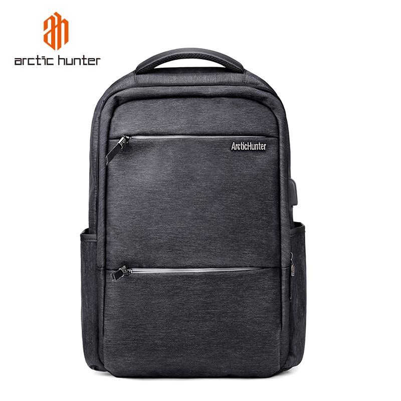 ARCTIC HUNTER New USB Waterproof Laptop Men's Backpack Leisure Bag Male Travel Sport Business Notebook Bag Schoolbag Pack