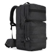 55Л Тактический Рюкзак Molle военный софтбэк Открытый водонепроницаемый рюкзак походный рюкзак мужской охотничий туристический походный рюкзак Mochila