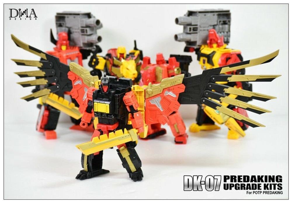 New DNA DK-07 upgrade Kit for Transformers POTP Predaking In Stock
