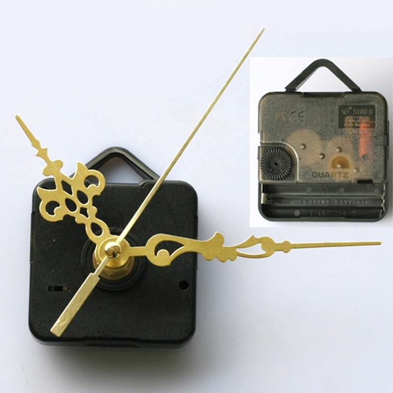 1 pçs profissional mecanismo de relógio relógio clockwork prático ferramenta de parede mecanismo mão kit preto peças relógio movimento quartzo ferramentas