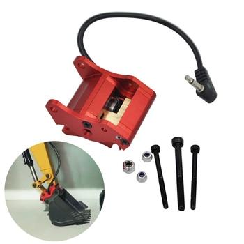 Metal Excavator Automatic Bucket Changer For 580 RC Car Excavator Huina Parts