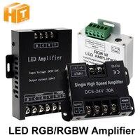 LED RGBW / RGB 증폭기 RGBCCT / RGBW / RGB LED 스트립 전원 리피터 콘솔 컨트롤러 용 DC5 - 24V 24A 30A 출력