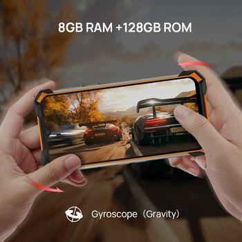 DOOGEE S88 Plus Rugged SmartPhone 48MP Main Camera 8GB RAM 128GB ROM IP68/IP69K smart phone Android 10 OS Global version 4