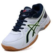 Новинка; профессиональная обувь для волейбола; теннисная обувь; обувь для бадминтона; нескользящие кроссовки для тренировок; дышащая Спортивная обувь; размеры 36-46