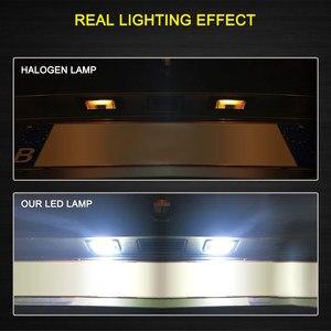 Image 2 - 2 PCS License Plate Light  Led Number Plate Holder Lamp No Error For BMW E39 E60 E60N E61 E90 E91 E90N E92 E93 E46 CSL E82