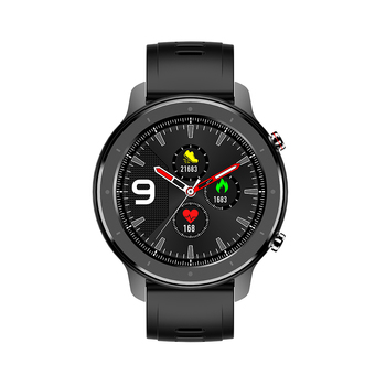 F12 Smart Watch Men Blood Pressure Smart Clock Round Waterproof Smartwatch Sport Health Bracelet Watch Smart For Android Ios