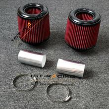 """2,2"""" двойного конуса воздушного фильтра воздушный фильтр для BMW E90 E92 E93 135i 335i 535i& 535xi E89 Z4 N54 B30 3.0l"""