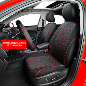 Image 2 - AUTOYOUTH Soccer Ball Style Car Seat Covers Jacquard Fabric Universal Fit Most Brand Vehicle Interior Accessories Seat Covers