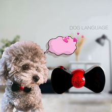 Smart Dog Language Translator Puppy Action Voice Sound Reader Scanner Neck Collar for Pets People Interaction dog people