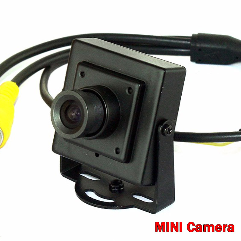 700TVL Analog CCTV Security Camera 3.6MM Lens Mini Metal Body Aerial Photography