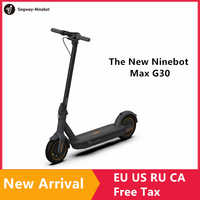 "2019 neue Original Ninebot MAX G30 Kickscooter Faltbare Smart Elektrische Roller 10 ""Rad 30 km/h 65km Palette Dual bremse Hoverboard"