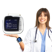 Laser Wrist Watch to Reduce High Blood Fat High Cholesterol Blance Blood Pressure blood pact