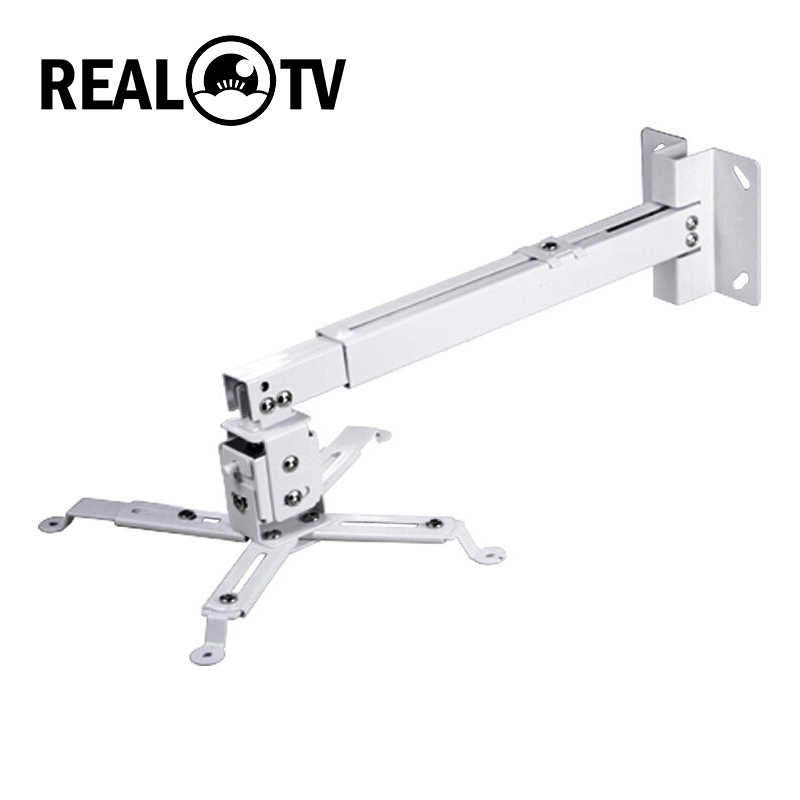 REAL TV Proyektor Mount Braket Adjustable Stan untuk W5 M8S M2 M5and Sebagainya