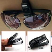 Универсальный автомобильный солнцезащитный козырек очки солнцезащитные очки квитанция карточка держатель для хранения Высокое качество автомобильные аксессуары