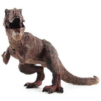 цена на Big Size Jurassic Wild Life Tyrannosaurus Rex Dinosaur Toy Plastic Play Toys World Park Dinosaur Model Action Figures Kids Boy G