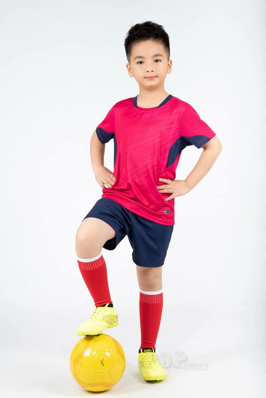 Kids football Uniforms boys girl soccer Jerseys Custom child Soccer Jersey Set Sportswear t-shirt sports suit new style 7