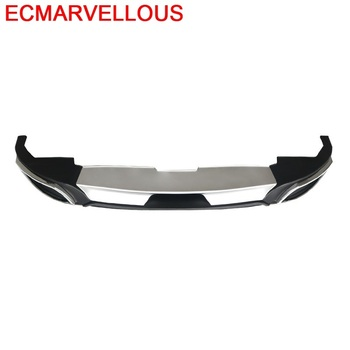 Parts Exterior Protecter Auto Decorative Rear Diffuser Styling Tunning Car Front Lip Bumper 14 15 16 FOR Mazda 3