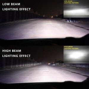Image 5 - Nighteye Led H4 H7 H8 H9 H11 8000LM 50W 6500K Car LED Headlights White Fog Lamps 9005 HB3 9006 HB4 Fog Light Bulbs