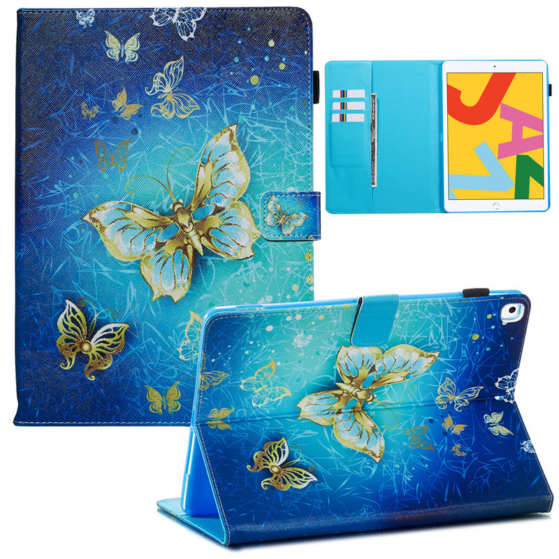 For A2200 10.2 iPad Cover Generation Funda Apple A2232 2019 for Skin 7th Case iPad Smart