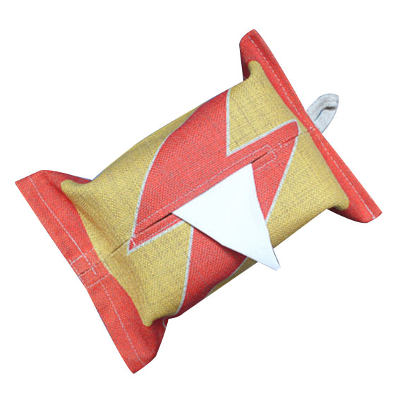 Decorative Hanging Ears Tissue Box,Napkin Holder For Living Room,Car,Kitchen Yellow Red