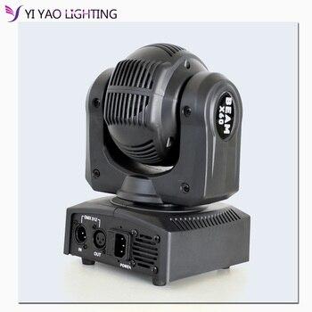 60W הזזת ראש אור LED 10/13 ערוץ שלב אפקט RGBW אוטומטי לרוץ DMX512 מופעל סאונד מאסטר- עבדים