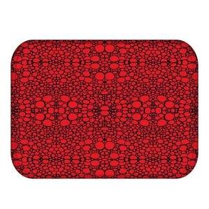 Image 3 - 40*60 drobnoziarnisty prostokątny flanelowy miękki dywan mata podłogowa możliwa do umycia główna sypialnia dekoracyjna mata podłogowa łazienka mata antypoślizgowa.