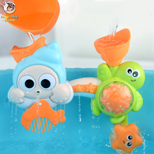 Ocean Animal Baby Bath Toys For Kids Shower Play Water Beach Bathing Tub Bathroom Playing Toy for Children Gifts