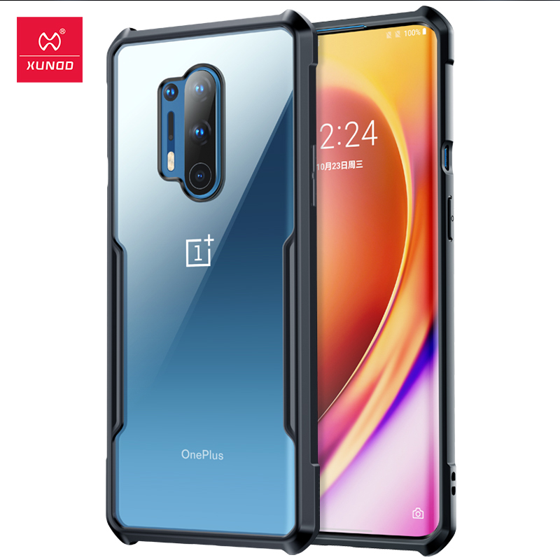 Xundd Shockproof Case For OnePlus 8 Pro Case Protective Cover Soft Back Shell Airbag Bumper Clear For One Plus 7 7T 8 Pro Cover|Fitted Cases| | - AliExpress