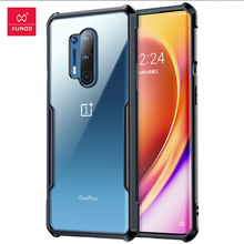 Xundd Shockproof Case For OnePlus 8 Pro Case Protective Cover Soft Back Shell Airbag Bumper Clear For One Plus 7 7T 8 Pro Cover