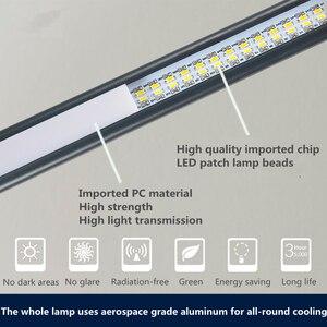 Image 4 - 80 LED 8W długie ramię lampy stołowe LED na biurko czytaj lampa stół biurowy ochrona oczu światło USB zasilany składany ściemniacz 10 poziomów zacisk