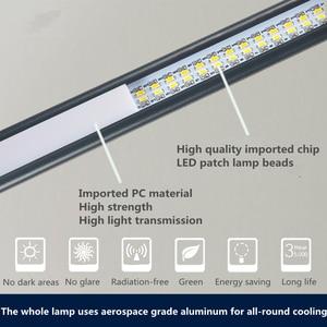 Image 4 - Lámparas LED de mesa de brazo largo, 80 LED, 8W, para lectura de escritorio, oficina, protección para los ojos, luz alimentada por USB, atenuador plegable, abrazadera de 10 niveles