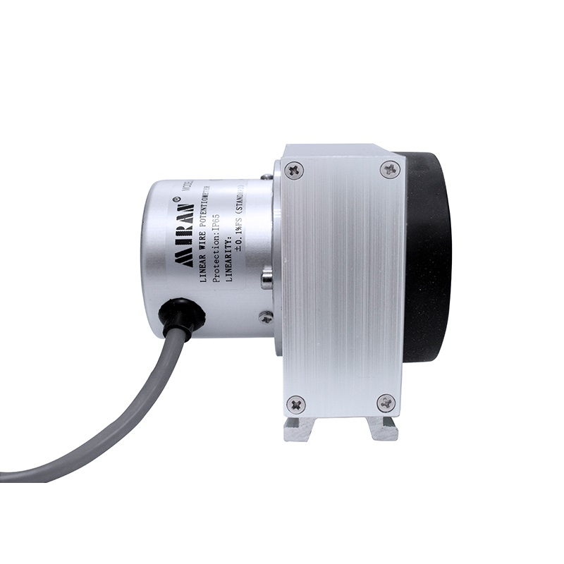 Pull Rope Displacement Sensor Pull Wire Encoder Pulse Output Pull Rope Ruler High Precision