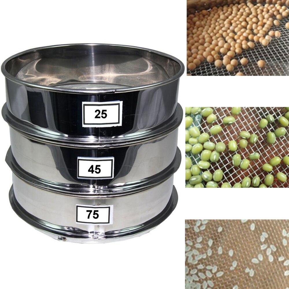 DOITOOL 1Pc Pollen Sifter Shaker Stainless Steel Herbal Pollen Hash Extractor Extractor Fine Sieve Mesh Strainer 20cm Diameter