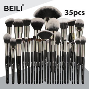 BEILI Black 35 Pieces Makeup B