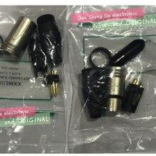 20 шт./лот, 10 шт., NC3MXX и 10 шт., NC3FXX для разъема NEUTRIK Male и female, комплект с 3-контактным разъемом XLR, высокое качество