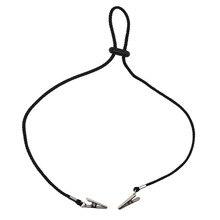 2x лавсановая салфетка держатель цепи нагрудник зажим гибкий Регулируемый замок шейный ремень