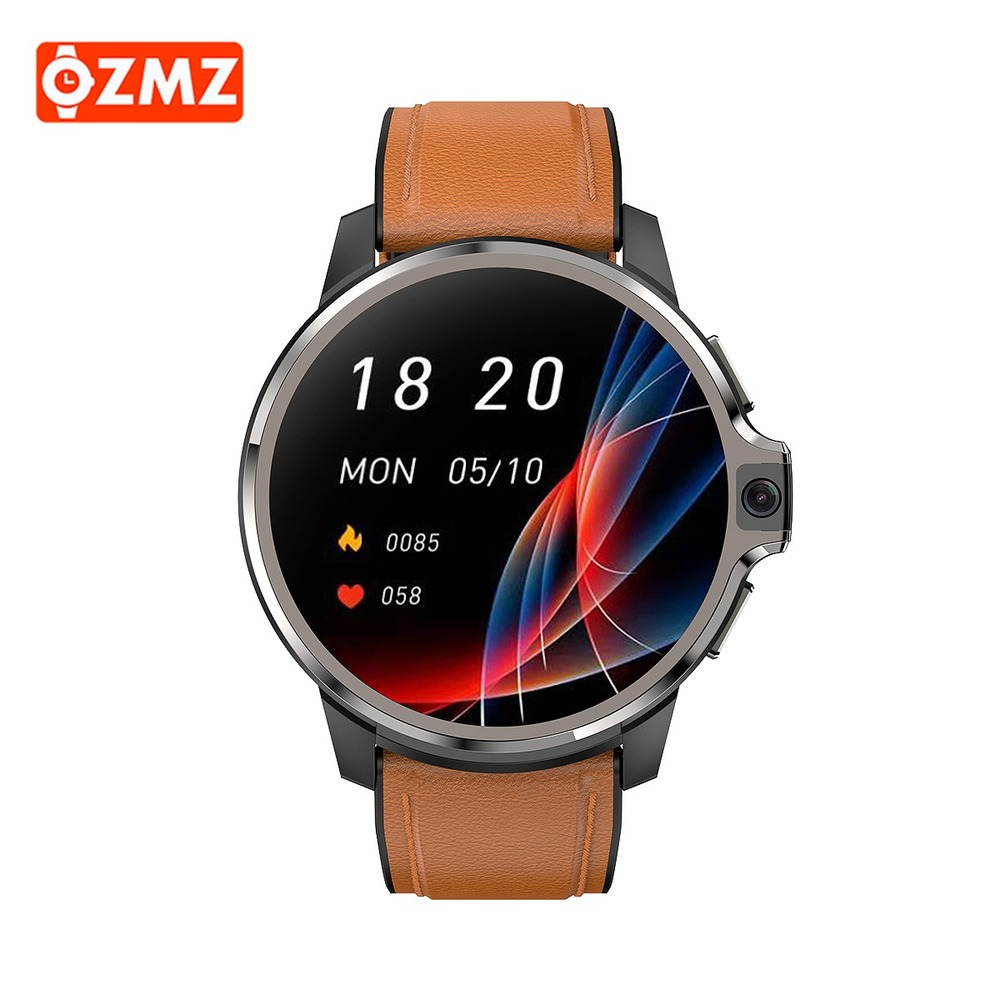 Permalink to OZMZ 4G 1.6 Inch Smart Watch GPS WIFI Dual System 4GB 64GB Android 9.1 1050Mah Fitness Track Heart Rate Monitor SmartWatch DM30