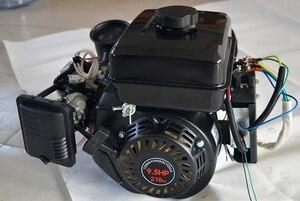 3KW 4KW 5KW niski poziom hałasu 24V48V60V72V elektrycznego samochodu trójkołowy quad przedłużacz zasięgu generator benzynowy