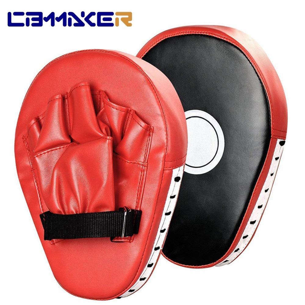 2 PCS Kick Boxing Gloves Pad Punch Target Bag Men MMA 1PCS PU Karate Muay Thai Free Fight Sanda Training  Equipment