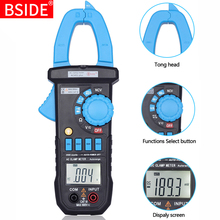 BSIDE ACM01 Plus Auto Range Digital Clamp Multimeter Non-contact AC Current Tester With Clamp Lighting 2000 Counts