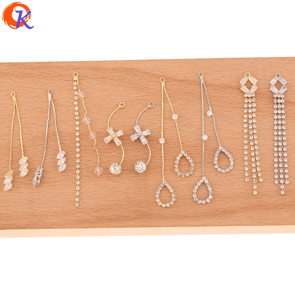 Cordial Design 50Pcs Jewelry Accessories/Connectors For Earrings/Charms/Claw Chain/DIY Jewelry Making/Hand Made/Earring Findings