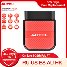 Autel AP200C Bluetooth Obd2 Scanner Code Reader Full System Diagnostic Tool Diagnostic Scanner PK AP200 & AP200M