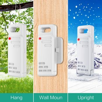 Wireless Thermometer Digital Hygrometer Thermometer Indoor Outdoor with 3 Sensor Humidity Monitor Touchscreen Backlight 5