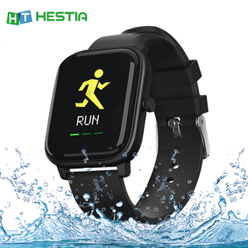 2020 P8 1.4 Inch Smart Watch Men Fitness Tracker Sport IP67 Heart Rate Blood Pressure Sleep Monitor