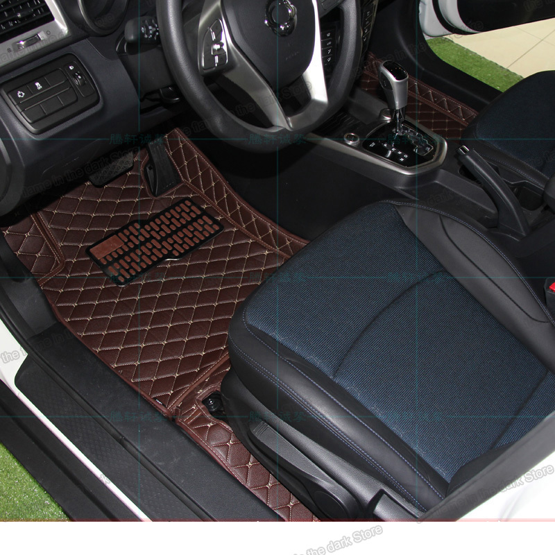 lsrtw2017 for <font><b>SsangYong</b></font> <font><b>Tivoli</b></font> XLV LUVi 2015 2016 2017 2018 2019 2020 leather car floor mats rug carpet accessories interior image