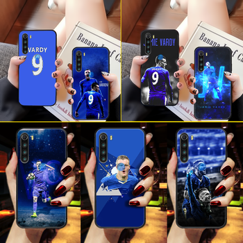 Jamie Vardy soccer Phone Case Cover Hull For XIAOMI Redmi 7a 8a S2 K20 NOTE 5 5a 6 7 8 8t 9 9s pro max black cell cover 3D image